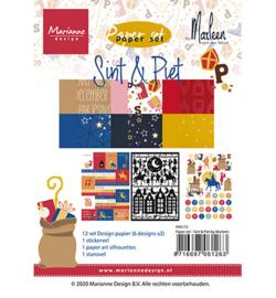 Marianne D - PK9173 - Paper set - Sint & Pint