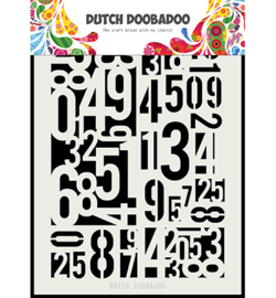 Dutch Doobadoo - 470715146 - Dutch Mask Art Numbers A5