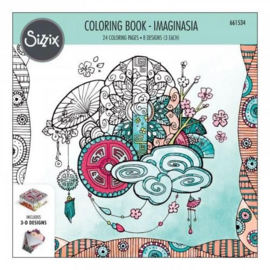 Sizzix Colouring Book - Imaginasia 661534 Katelyn Lizardi