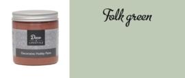 Deco & Lifestyle Acrylverf krijt 230 ml - folk groen