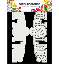 Dutch Doobadoo - 470713752 - Card Art Sint en Piet