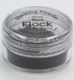 Flock powder Black