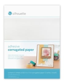 Silhouette Adhesive Corrugated Paper