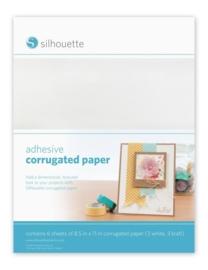 Silhouette Adhesive Corrugated Paper