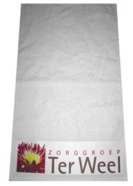 Sublimatie Handdoek (onbedrukt), 50 x 100 cm, sublimatie - kleur : Wit