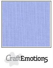 CraftEmotions linnenkarton - licht jeans LHC-42 A4 250gr