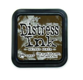 Ranger Distress Inks pad - walnut stain stamp pad TIM19534 Tim Holtz