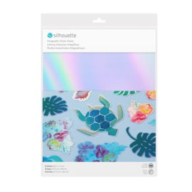 Silhouette - Sticker Paper - Holographic