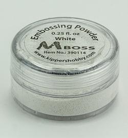 Embossing powder - White