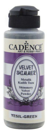 Cadence Velvet shimmer powder Groen 01 099 0004 0120 120 ml