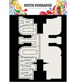 Dutch Doobadoo - 470713745 - Card Art Autumn text
