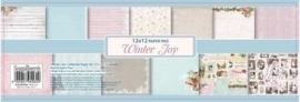 ScrapBerry's Paper Set 12x12 Inch Winter Joy 180 gsm (13 Sheets/Set) (SCB220605400b)