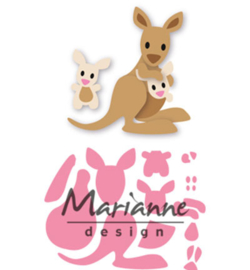 Marianne D Collectable COL1446 - Eline's kangaroo & baby