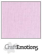 CraftEmotions linnenkarton - zacht lila LHC-19 A4 250gr
