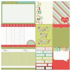 ScrapBerry's Double-Sided Paper 12x12 Inch 180 gsm, Everyday Daily (SCB220604112b) - 1