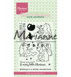 Marianne D Stempel EC0173 - Eline's Christmas hedgehogs