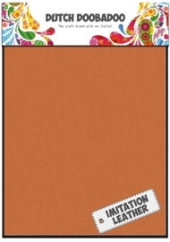 Dutch Doobadoo - Fabric Art A5 - Imitatie Leather Orange