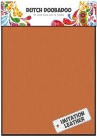 Dutch Doobadoo - Fabric Art A5 - Imitatie Leather Orange