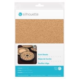 Silhouette Cork Sheets