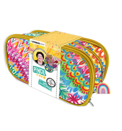 Studio Light - PCBM02 - BM Pencil case Floral Marlene's World nr. 2