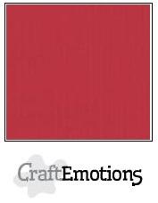 CraftEmotions linnenkarton - kersen rood LHC-30 A4 250gr