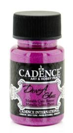 Cadence Dora Glas & Porselein verf Metallic helder Fuchia 01 013 3155 0050 50 ml