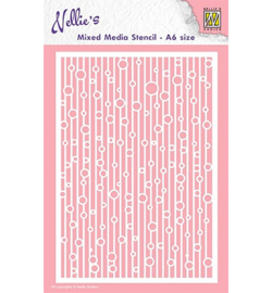 Nellie`s Choice MMSA6-010 - Lines & bubbles
