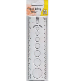 Nellie`s Choice - FCSR001 - Circle size ruler