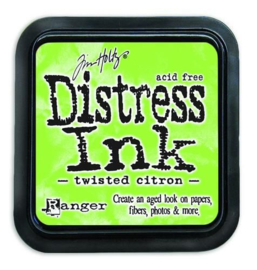 Ranger Distress Inks pad - twisted citron TIM43294 Tim Holtz