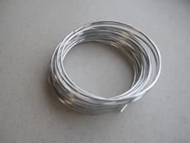 Aluminiumdraad zilverkleur 1,5 mm 6 MT