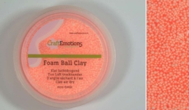 Foamball clay - luchtdrogende klei - oranje 15gr