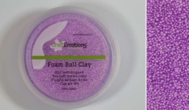 Foamball clay - luchtdrogende klei - paars 15gr
