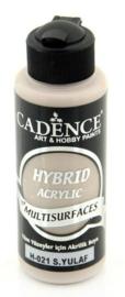 Cadence Hybride acrylverf (semi mat) Warm oat 01 001 0021 0120 120 ml