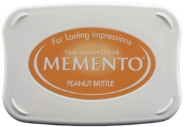 Memento inktkussen Peanut brittle