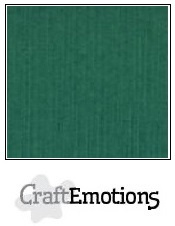 CraftEmotions linnenkarton - kerstgroen LHC-36 A4 250gr