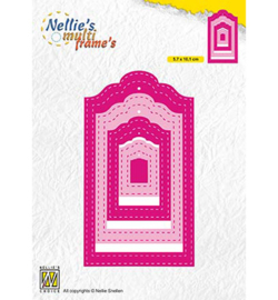 Nellie`s Choice MFD133 - Stiched Tags