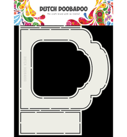 Dutch Doobadoo - 470713331 - Fold Card art label Barok