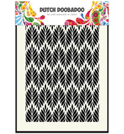 Dutch Doobadoo Mask Art Floral Leaves