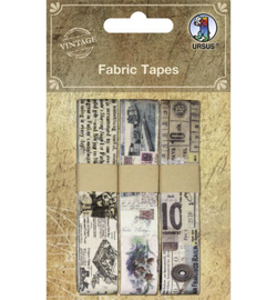 Ursus - Fabric Tapes, Cloth Ribbon self-adhesive motif 3