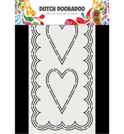 Dutch Doobadoo - 470.713.871 - Card Art Slimline Hearts