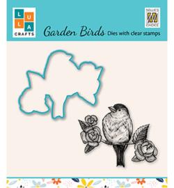 Nellie`s Choice - HDCS014 - Garden bird-6