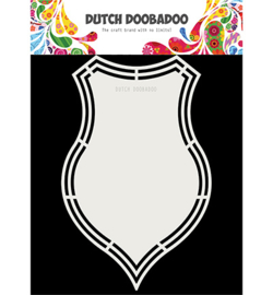 Dutch Doobadoo - 470713176 - Dutch Shape Art Shield
