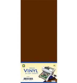Vinyl sheets - 3.0534 - Vinyl, Brown