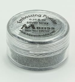 Embossing powder - Silver Gray