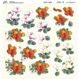 Crea Motion - 30x30 - 3D knipvel - Flowers 13