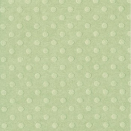 "Bazzill dot Swiss 12x12"" celtic green"