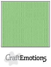 CraftEmotions linnenkarton pistache 27x13,5cm 250gr