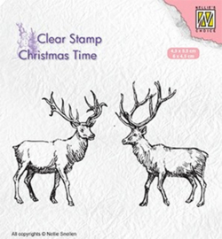 Nellie`s Choice CT028 - Two reindeer