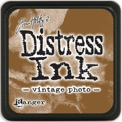 Tim Holtz distress mini ink vintage photo