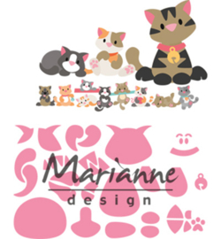 Marianne D Collectable COL1454 - Eline's kitten